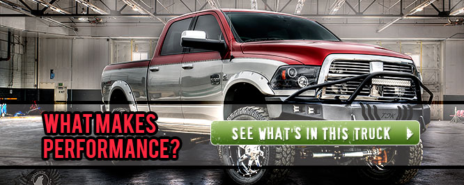 What Makes Performance? See what's in these trucks