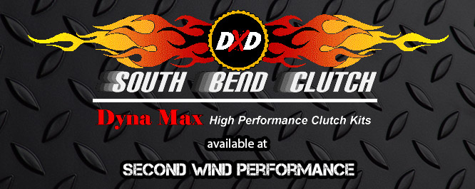 South Bend Clutch. Dyna Max High Performance Clutch Kits Available at Second Wind Performance.